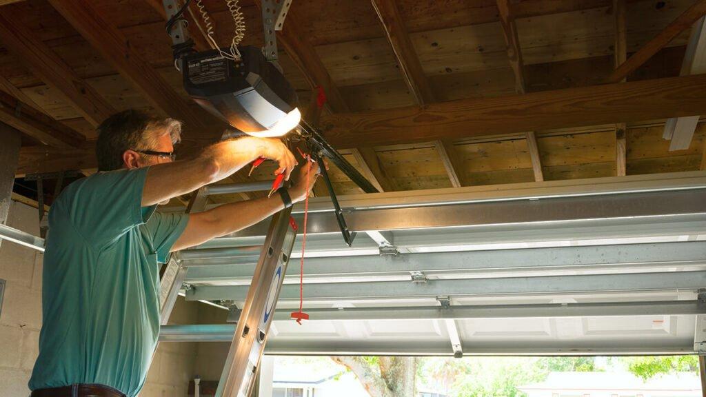 Repair a Dented Garage Door Panel