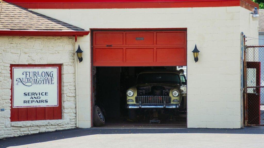 garage door not working