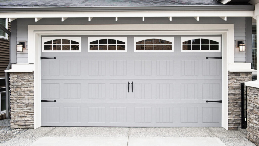 How to open a garage door if there is a power outage