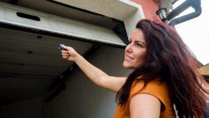 Childproofing a garage door